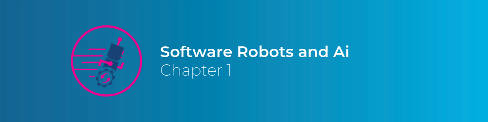 software robots and AI