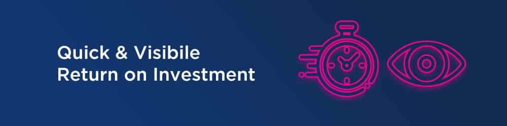 Return on investment with RPA