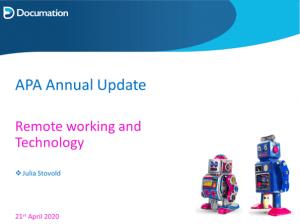 AP Annual Update